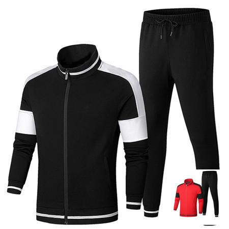 Designer Mens Women Tracksuits Hooded Jackets+Pants 2 Pure Color Brand Kits Sports Active Outfit Running Casual Gym 2019 New Arrive LJJ98314