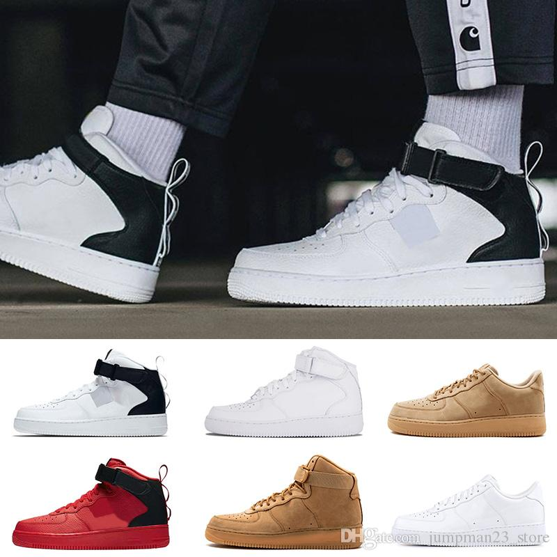 225959cfdbf Acheter Air Force 1 AF1 Nike Airmax One NIK One 1 Dunk Chaussures ...