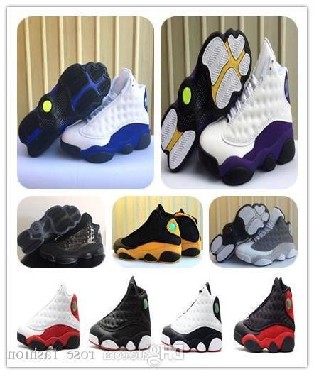 13s Lakers Rivals Basketball Shoes Cap And Gown 13 Atmosphere Grey Chicago Bred He Got Game Mens Sports Sneaker Athletics Free Shippment
