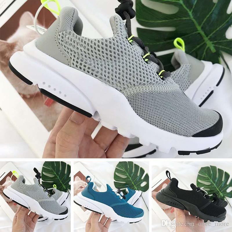 acheter en ligne 69f95 17dbb Nike Presto React Enfants Chaussures 2018 Release Air Presto 2.0 Blanc  Chaussures De Course Pour Homme Femmes Hors Sports Sneakers Avec Boîte ...