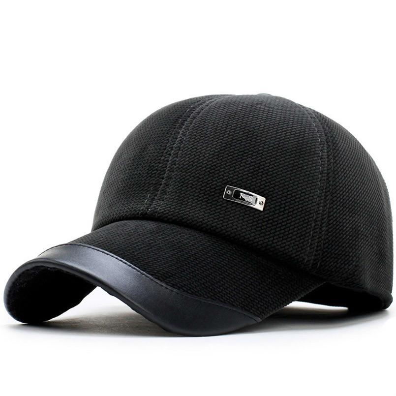 cf2d608f85b 99+ Megacap Men S Corduroy Winter Baseball Cap W Earflaps Medium ...