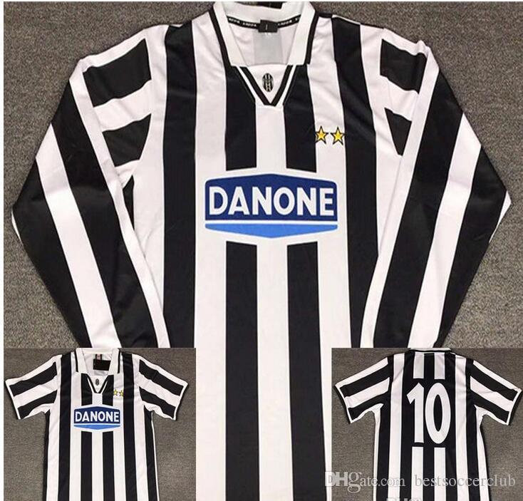 607e16794 2019 94 95 Del Piero Retro Soccer Jersey Long Sleeve Vintage 1994 1995 Del  Piero Football Shirts Italia Calcio MAGLIA Camiseta From Bestsoccerclub