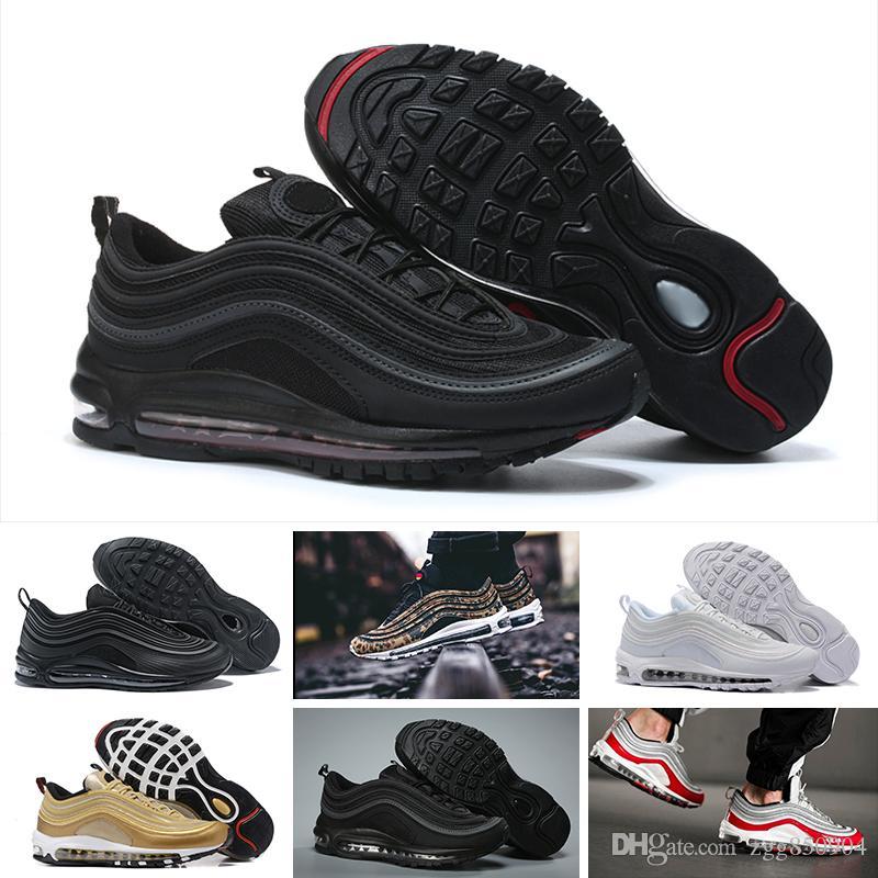 f6f992cdbbe315 Großhandel Nike Air Max 97 Sale 97 Designer Shoes 97s SE PULL TAB  Laufschuhe Für Herren Trainer Authentic Sports Blau Weiß Obsidian  University Outdoor ...
