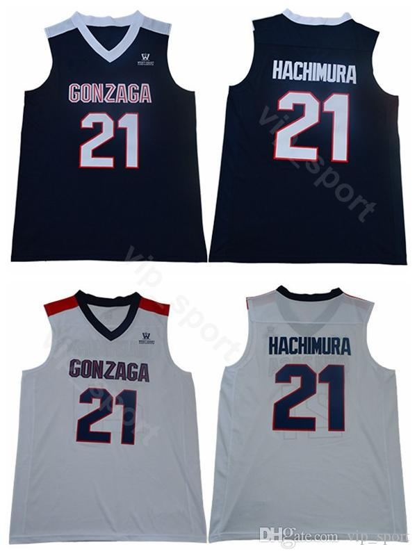 730244c46097 2019 Gonzaga Bulldogs 21 Rui Hachimura Jersey Men College Basketball John  Stockton Jerseys 12 High School Navy Blue White Embroidery Hot Sale From  Vip sport ...