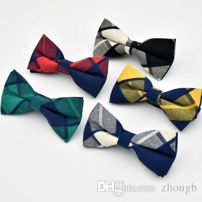 00a03baaabbd Mens Bowtie Bow Ties Pre-tied Adjustable Stripe Print Neck Bow Tie ...