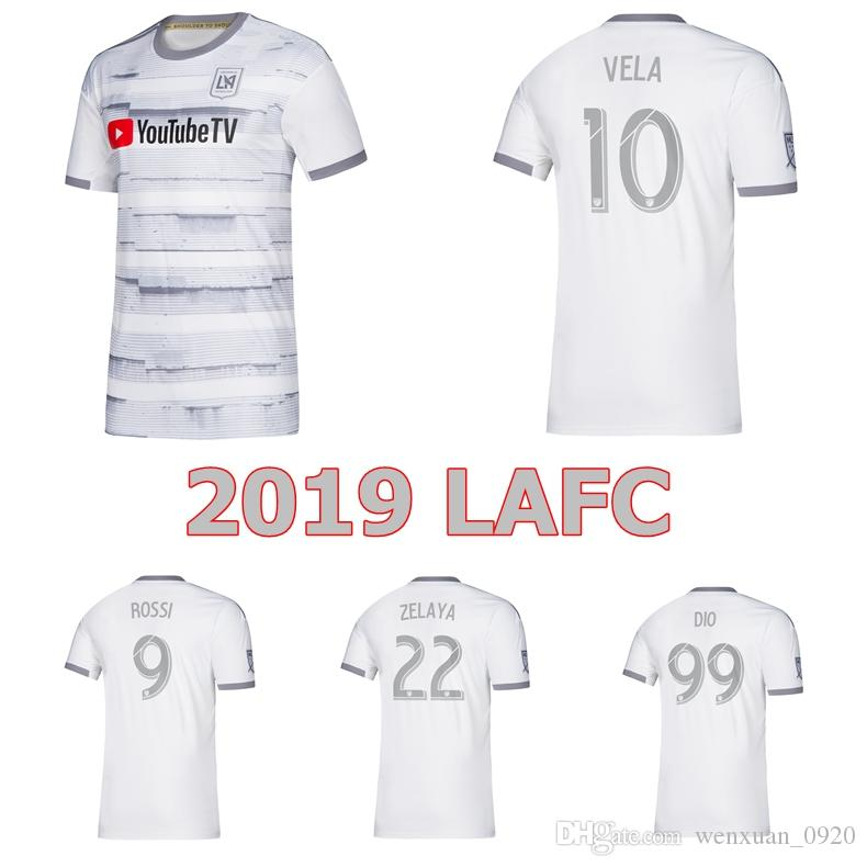 outlet store f678e f5996 2019 LAFC Soccer Jerseys Los Angeles FC 19 20 away Carlos Vela Zelaya ROSSI  DIO ZIMMERMAN Black TOP Quality Football Shirts
