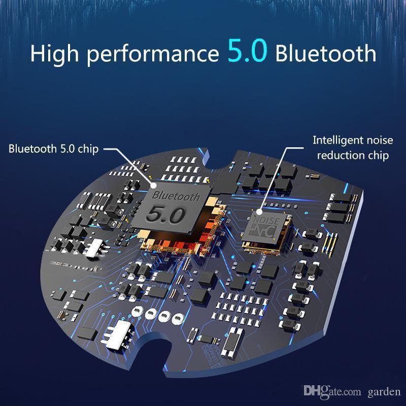 Auriculares inalámbricos I7 Mini i7s TWS gemelos Auriculares Bluetooth Headset auriculares con micrófono estéreo V5.0 para el teléfono Android con el paquete al por menor caliente
