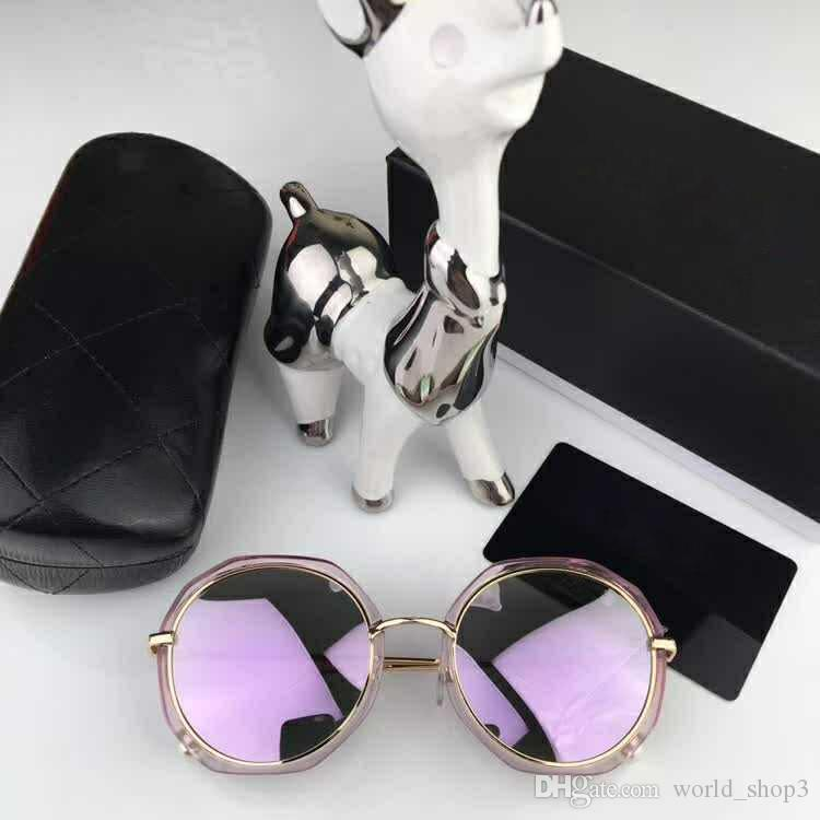 0129 High Quality Sun glasses mens Fashion Sunglasses Brand Designer uv400 Eyewear For men Women Driving glasses 6 color with cases and box