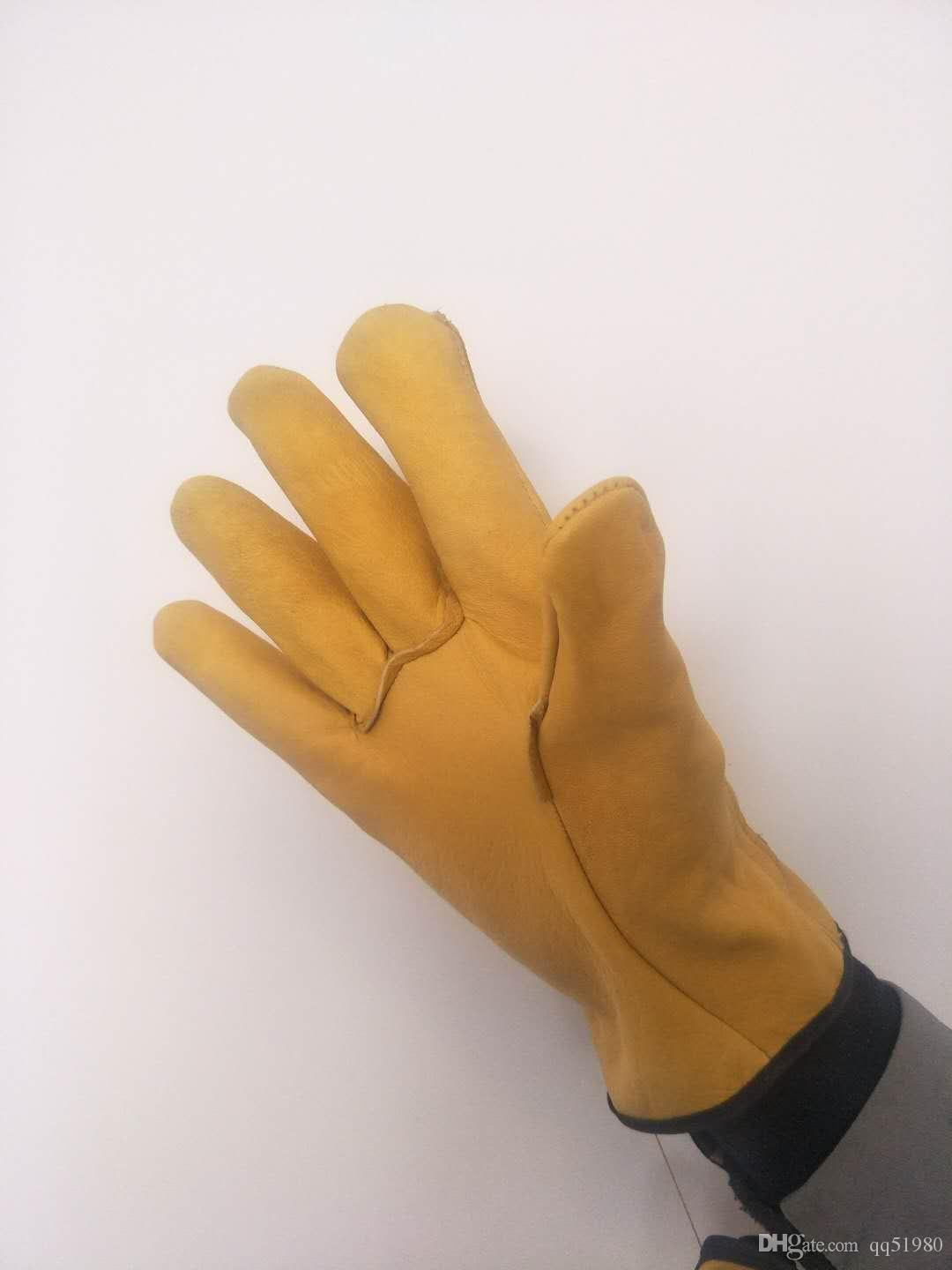 industrial leather gloves pigskin gloves leather gloves