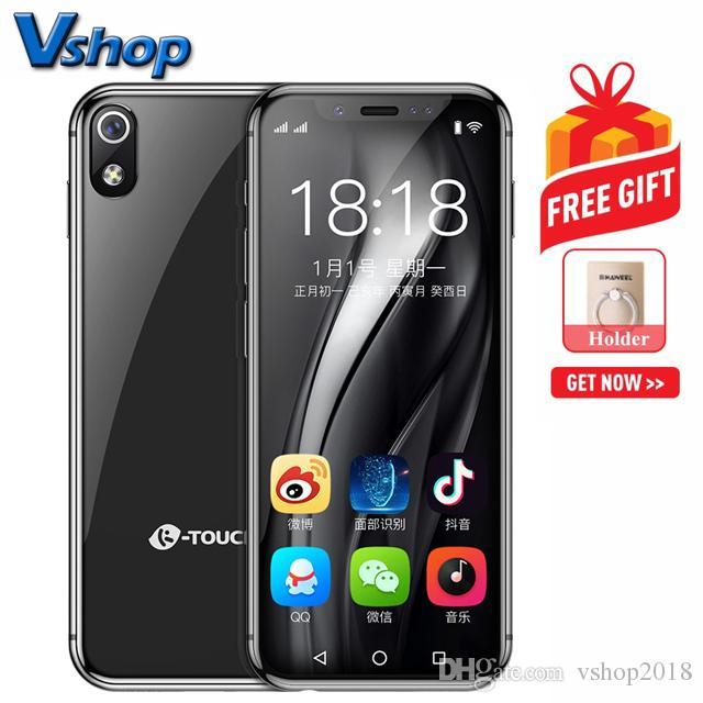 buy popular 65619 4dfa0 Compre K TOUCH I9 3GB + 32GB Identificación De ID De Rostro 3.5 Pulgadas  MTK6739 Quad Core 2.4GHz Red  4G Dual SIM No Compatible Con Google Play A   98.76 ...