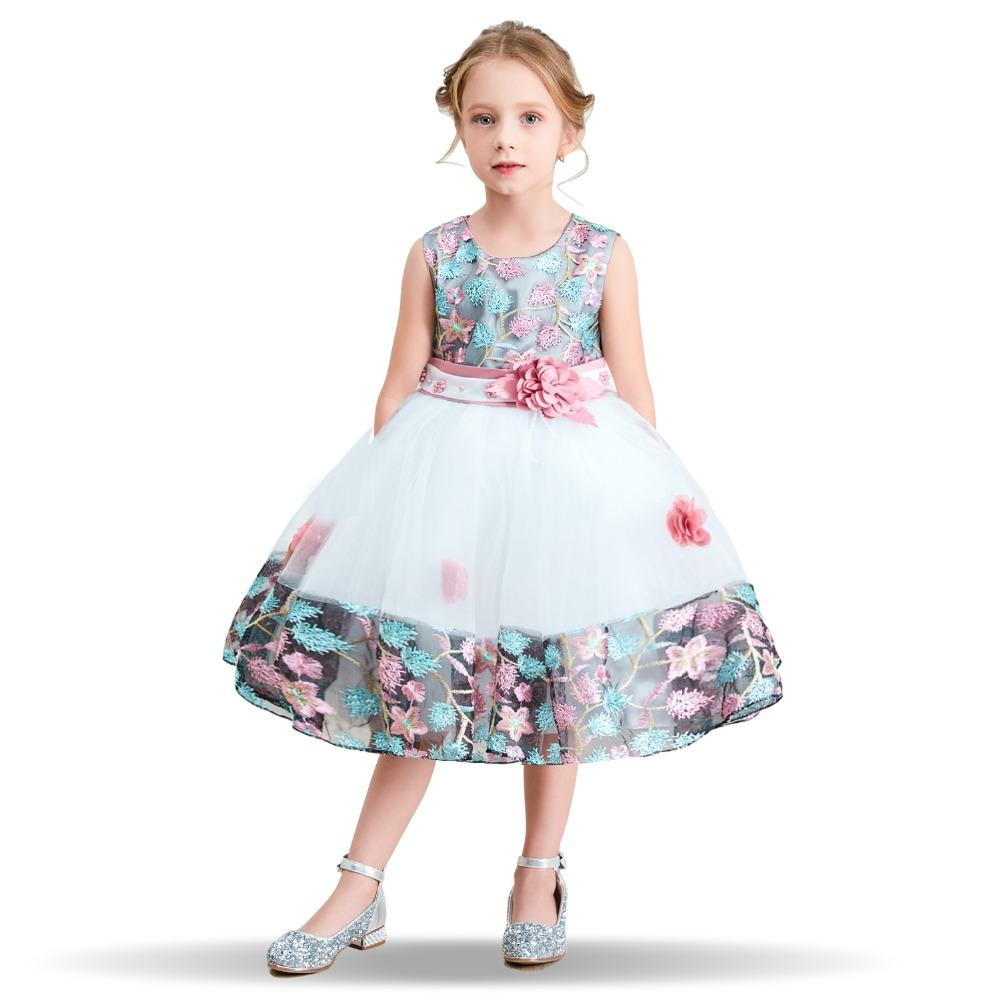 98710337c 2019 Fancy Flower Girl Dress Prom Wedding Gown Teenagers Dresses For Girl  Children Party Clothing Baby Kids Evening Formal Wear Dress From  Ouronlinelife, ...