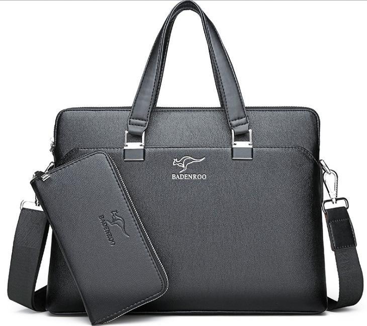 f10cfc4608c6 Новая портативная мужская сумка мужская деловая сумка сечение портфель сумка  Messenger Qing127