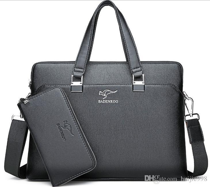 e5b82311faa50 Neue tragbare Herren Tasche Herren Business Handtasche Querschnitt  Aktentasche Schulter Messenger Bag Qing127