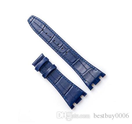 12a03139 Buckle Bands Silver Rose Gold Polished Watch Band Strap Pin Buckle 16mm 18mm 20mm Sport Relojes Hombre Watchband Watchbands