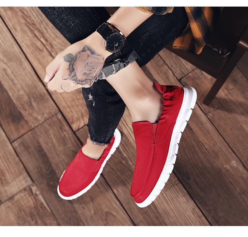0180 New Trendy Designer embroidery tiger Platform Casual Flats Shoes Male high tops Wedding Prom Best shoes Good Sale