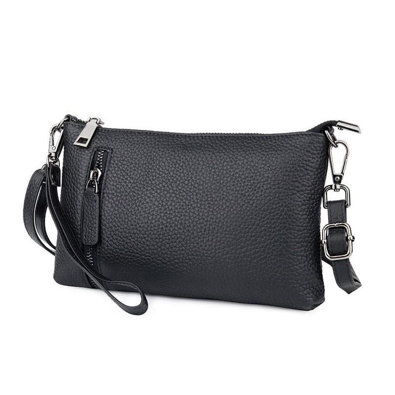 d5153cc60aed Luxury Brand Genuine Leather Handbags Women Bags Crossbody Bags For Women  Money Pocket Ladies Day Clutches Wallets Bolsos Mujer Bags For Sale  Discount ...