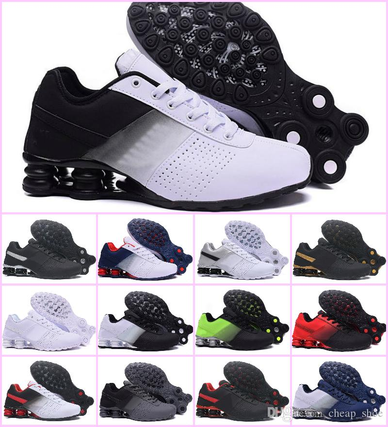 b3dbd5a310ca34 2019 2019 Shox Deliver 809 Men Air Running Shoes Drop Shipping Wholesale  Famous DELIVER OZ NZ Mens Athletic Sneakers Sports Running Shoes US 7 12  From ...