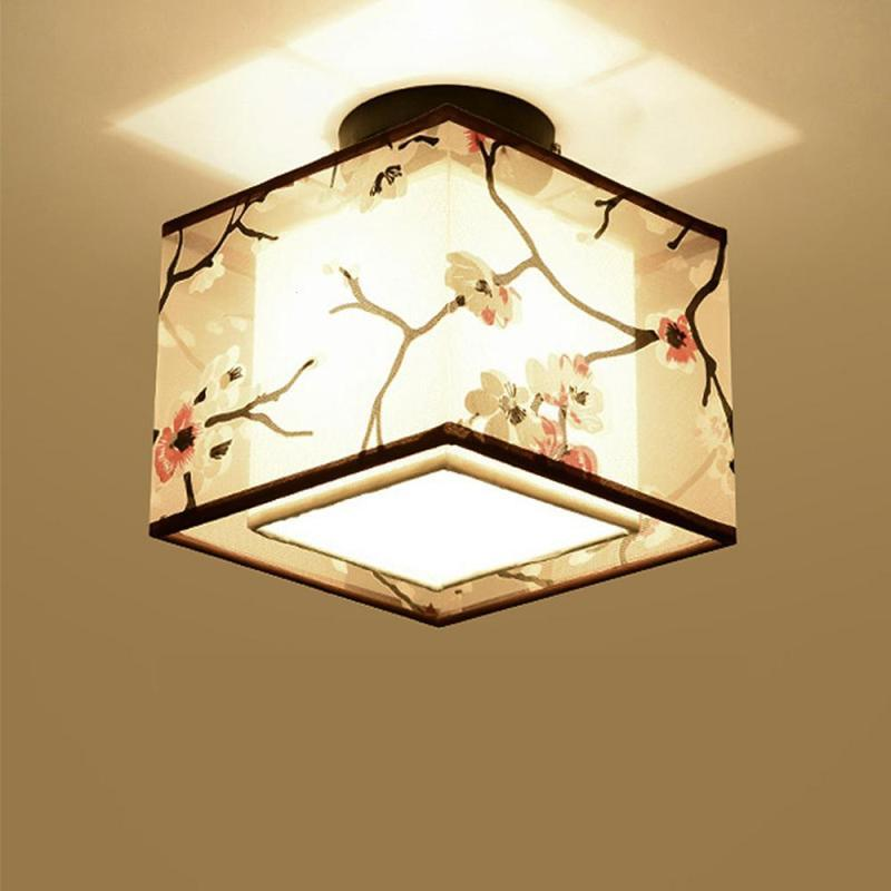 Awe Inspiring Ceiling Light Chinese Vintage Style Lampshade Home Decoration Traditional Latern Corridor Ceiling Lamp Kitchen Lighting S3 Home Interior And Landscaping Ponolsignezvosmurscom