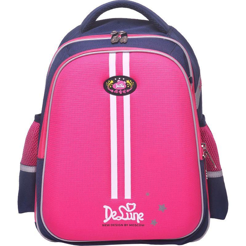 46d66263ac2e Купить Оптом 2019 Delune Brand Kids Schoolbag Для 1 6 Классов Мальчиков  Девочек Ортопедический Рюкзак 5 12 Лет Дети Новый Дизайн Сумки Начальной  Школы ...