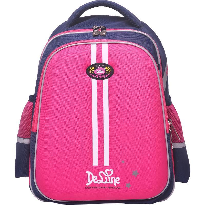 2019 Delune Brand Kids Schoolbag For Grade 1 6 Boys Girls Orthopedic  Backpack 5 12 Years Children New Design Primary School Bags Bags For School  School ... 1a15a8ff29aac