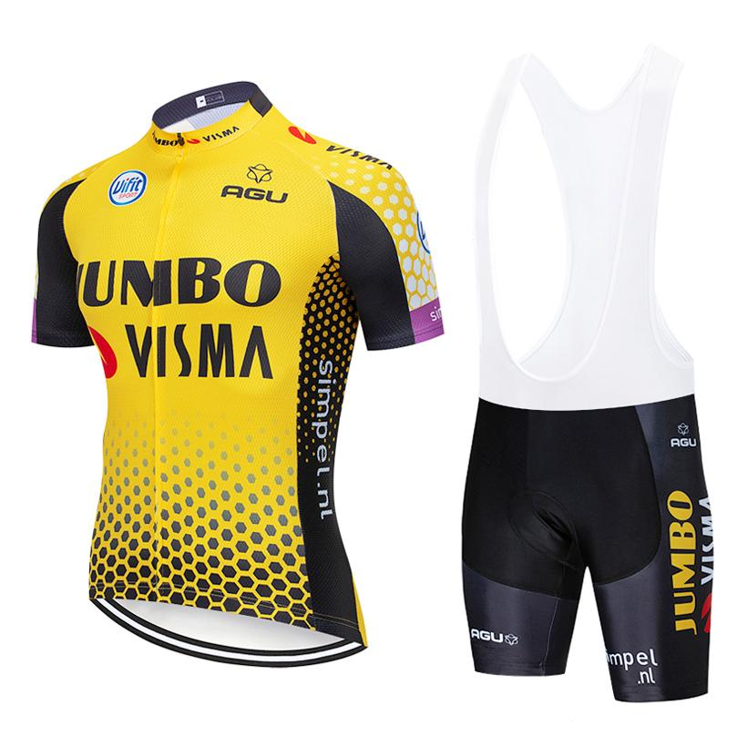 2019 JOMNO Cycling TEAM Jersey 20D Bike Shorts Suit Ropa Ciclismo ... 555772fcc