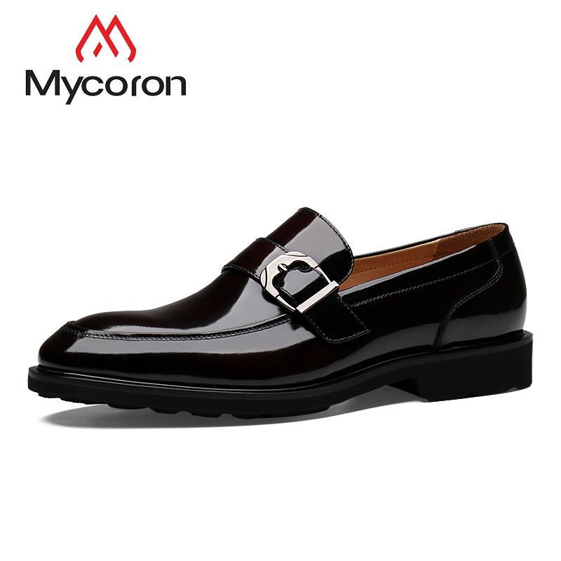Mode Mycoron Frühling Business Stiefel 2019 Leder Männer Schuhe Herbst Herren Echtes Luxus Bequeme Freizeitschuhe 9EDW2HI