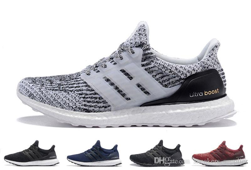 sale retailer 88ca1 d1853 2019 Ultra Boosts 3.0 Mens Running Shoes Ultraboost 4.0 Walking Sneakers  ultraboost Trainers Women Designer Shoe