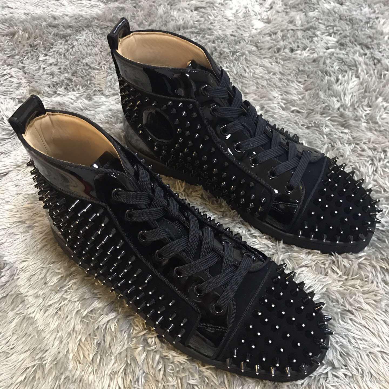 72e7da8f4c54fa Best Quality Mens Womens Luxury Brand Designer Sneaker Red Bottom ...