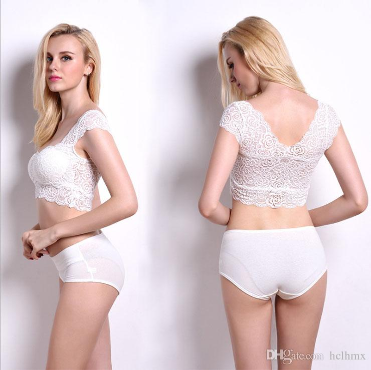 0831faa984 2019 Women S Good Bra Cotton Everyday Wireless Full Coverage Elegant Lace  Bra Comfortable Retail Wholesale Tanks From Hclhmx
