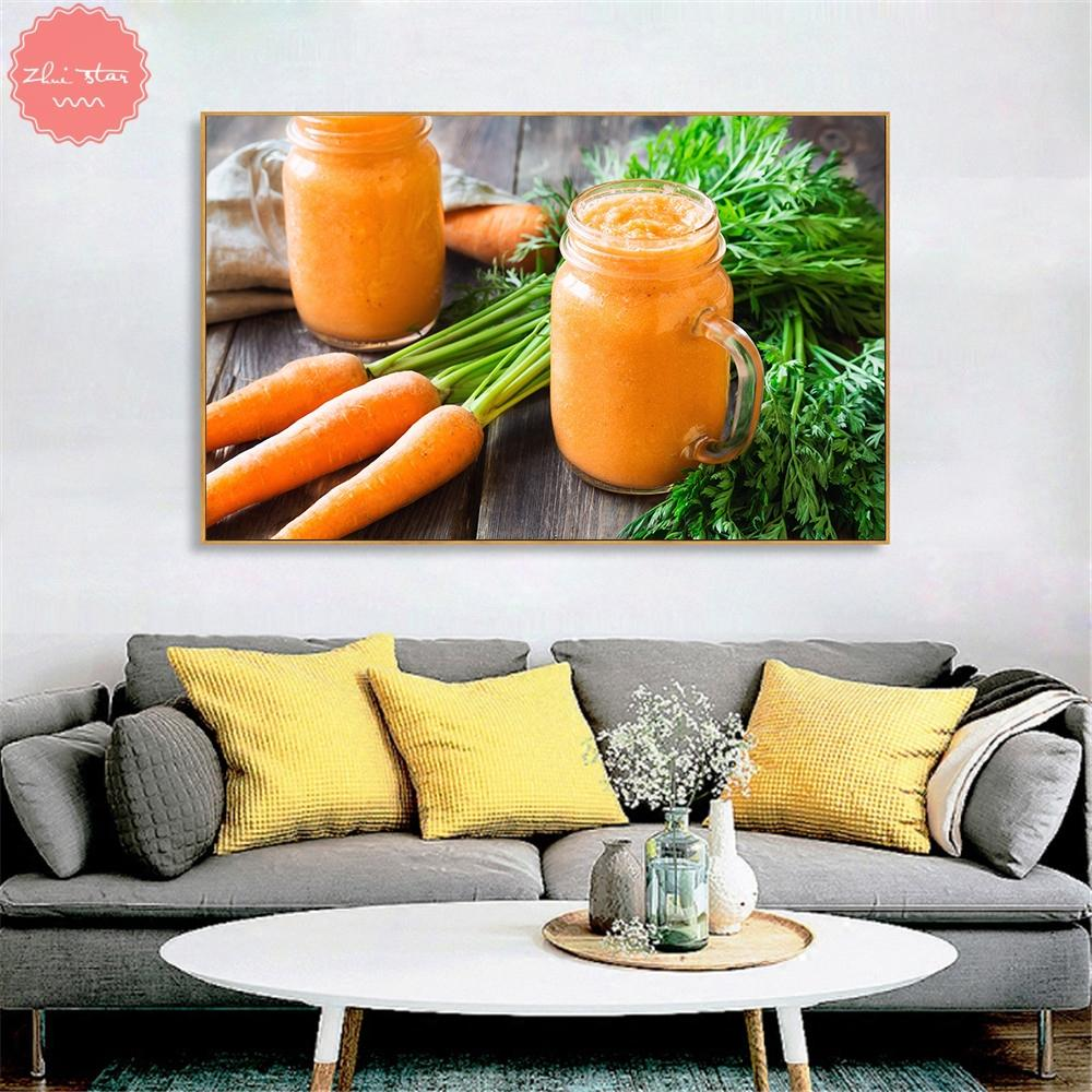 Satın Al Elmas Boyama Meyve Suyu çay Limon Havuç Mutfak Için Elmas