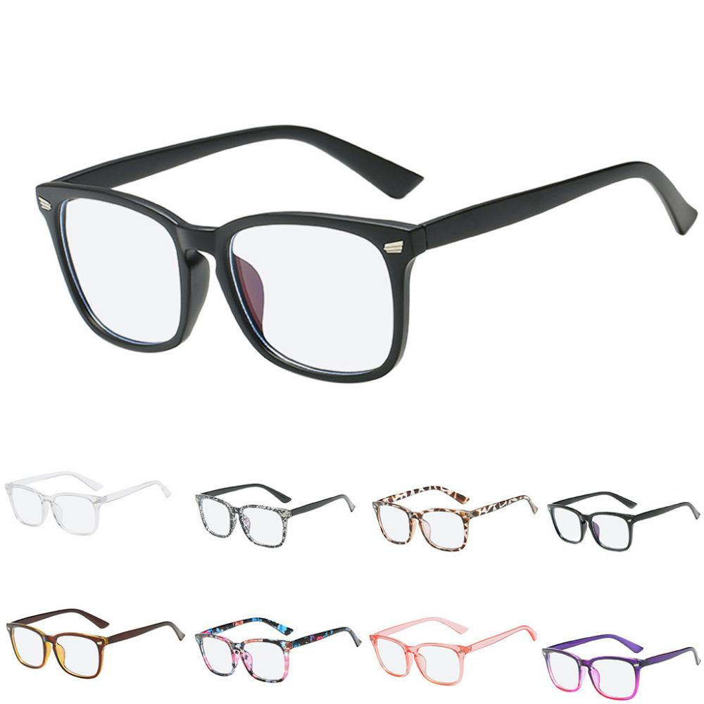 a37a753c123a 2019 Blue Light Blocking Glasses Square Nerd Eyeglasses Frame Anti Blue Ray Glasses  Light Blocking Square Nerd 2.21 From Taihangshan