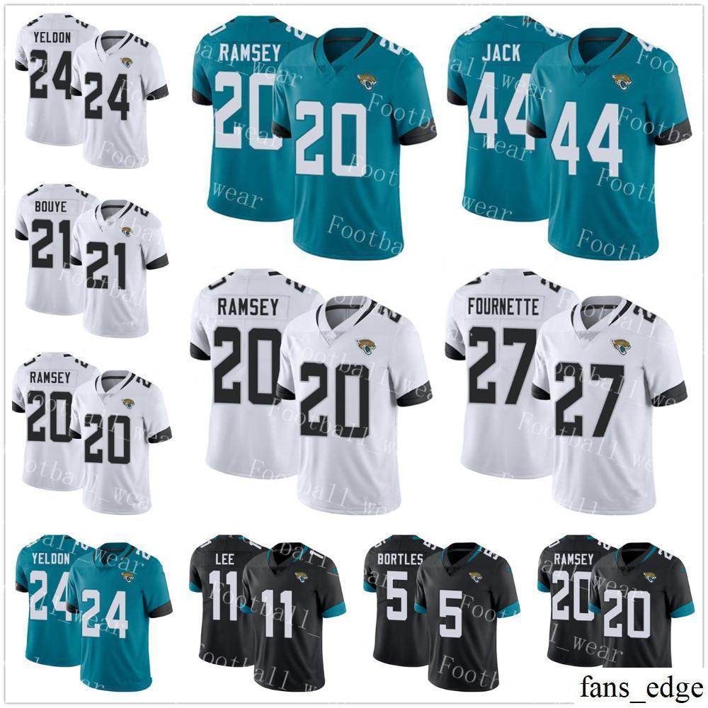2018 jacksonville jaguars jersey 27 leonard fournette 24 t.j. yeldon