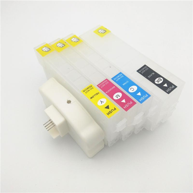 Vilaxh T35 T35XL Refillable Ink Cartridge Chip Resetter For T3591 T3581  WorkForce Pro WF-4770 WF-4720 WF 4725 Printer