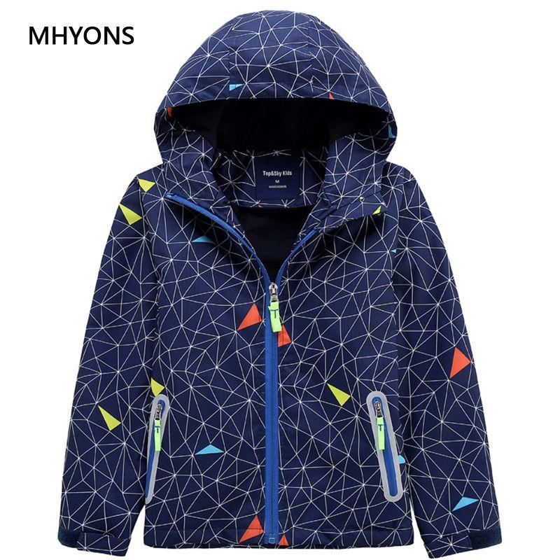 6776b04c5ac7 MHYONS 2018 New Winter Children Outerwear Warm Coat Sporty Kids ...