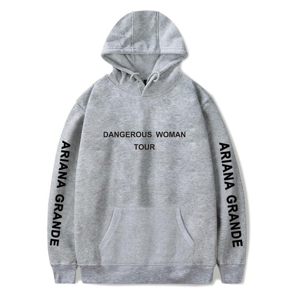 U CAN Ariana Grande Sweat-Shirt /à Capuche Sweat /à Capuche Unisexe Noir
