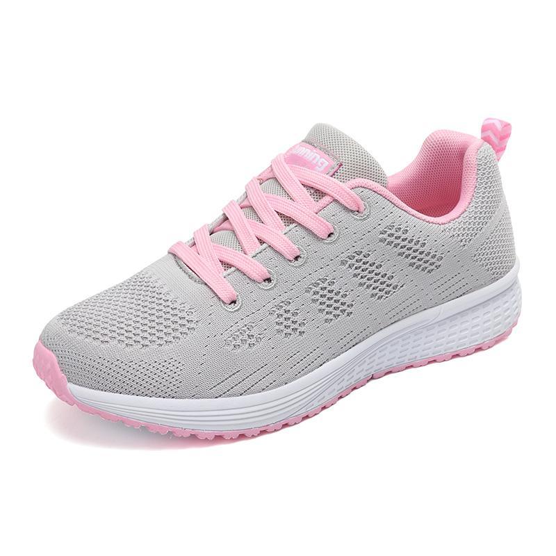 best website 281a0 e63ec Scarpe da corsa delle nuove donne 2019 Sneakers da donna bianche Tessuto d  aria Scarpe sportive da donna Scarpe da ginnastica leggere estive da donna