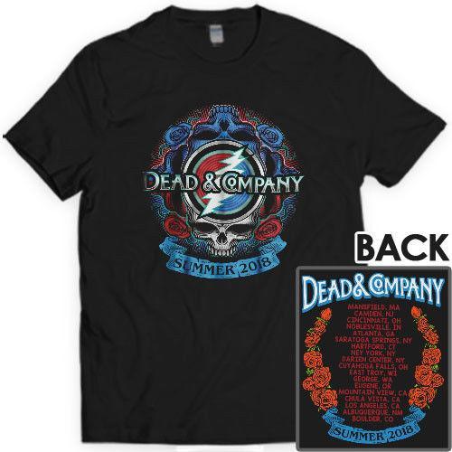 ef4a8c2b73a1 Dead And Company Summer Tour 2018 T SHIRT S 3XL MENS Custom T Shirt Logo  Text Photo Mens Womens T Shirt Cotton Shirts White T Shirts From ...