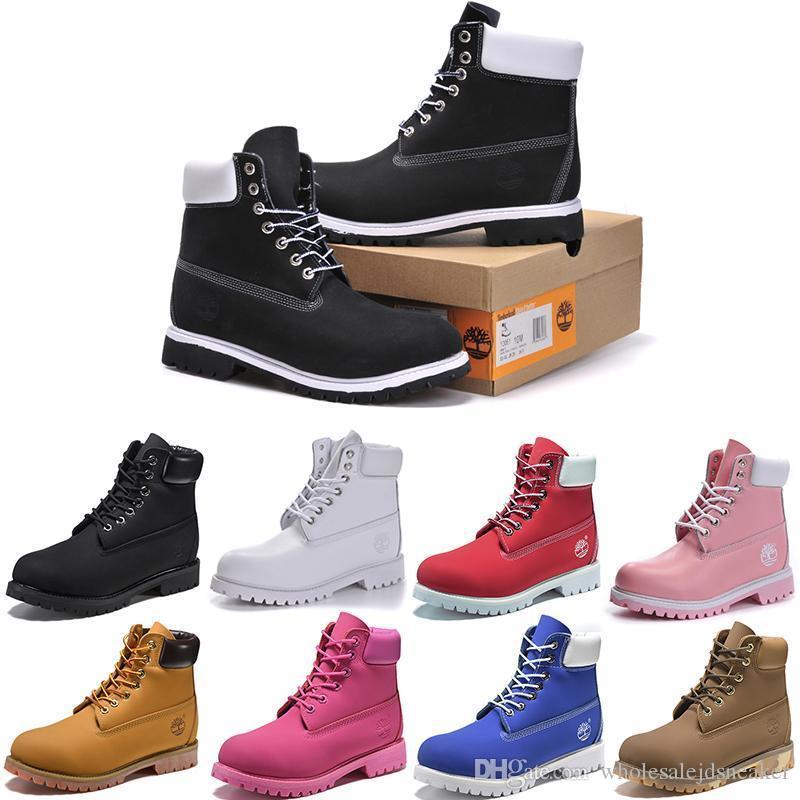 brand new 7fb15 f31c1 Casual Brand Wheat Donna Scarpe Gold Moda Uomo Outdoor Ginnastica  Timberland Sneakers Silver Botas Boot Da ...