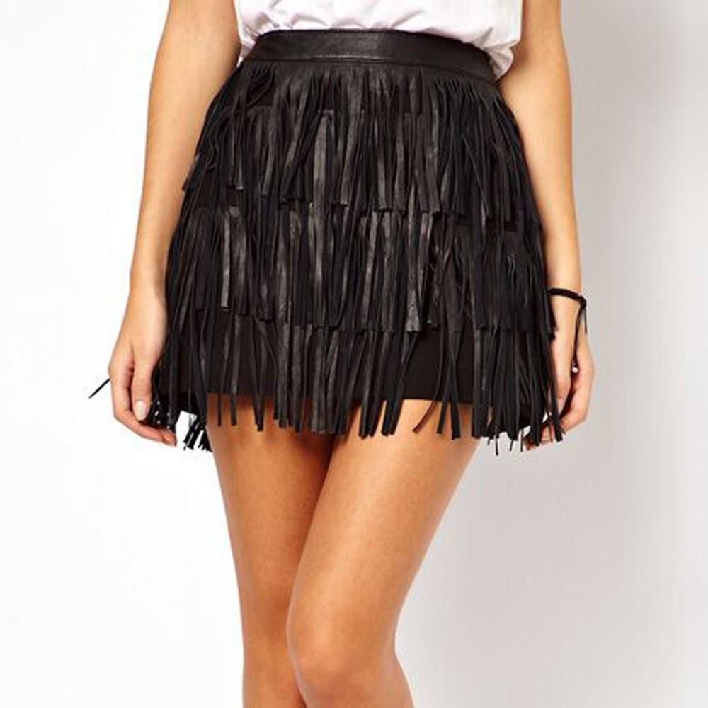 81d5a5176c3 Skirt Fashion Women Holiday Summer Zipper Tassel High Waist Stage Party Mini  Skirt Harajuku Faldas Mujer Moda 2019 Skirts Cheap Skirts Skirt Fashion  Women ...