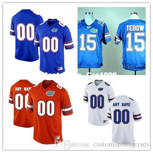 2019 Custom Mens Florida Gators College Football Limited Royal Blue Orange White  Personalized Stitched Any Name Number  15 Tebow 22 Jerseys From ... b03612f4d