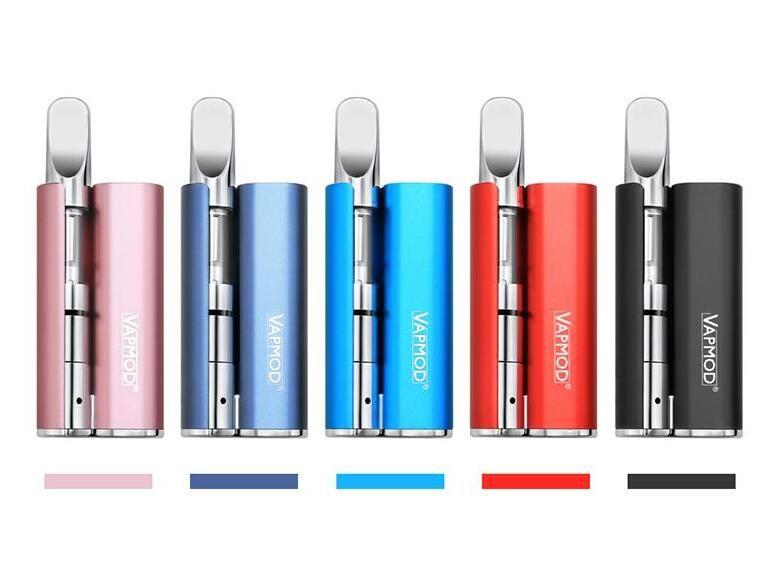510 co2 oil cartridge box mod vaporizer 380mah buttonless vape pen mod mini  e cigarette brand new hot seller for glass cartridges