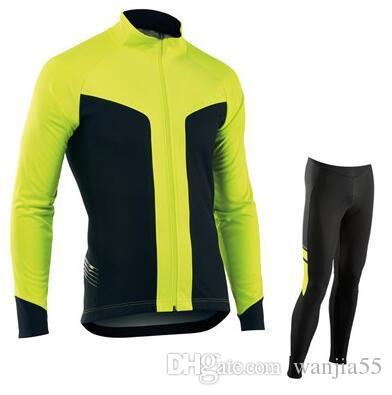 Cycling Jersey Sets Winter Thermal Fleece Cycling Clothing Windproof  Bicycle Reflective Cycling Jacket Sportswear Cycle Kits 2019 Drop Ship  Biking Clothes ... 27f3db363