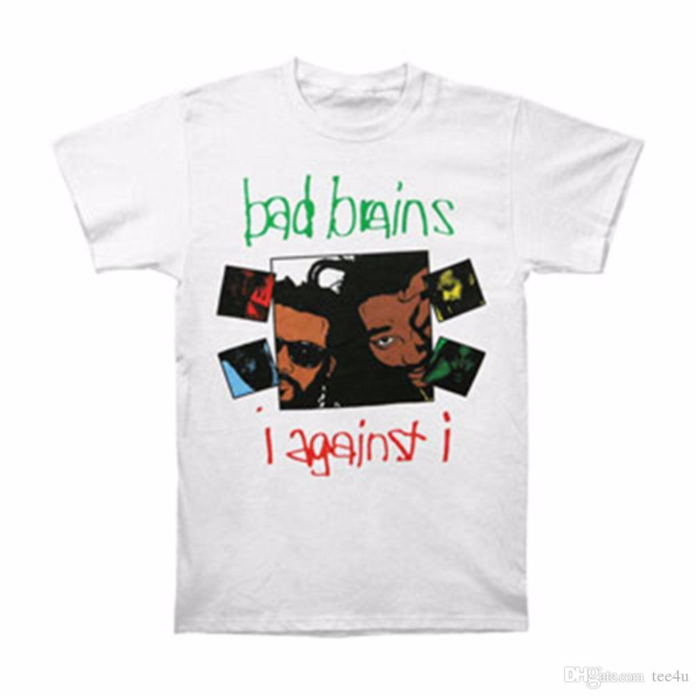 0688e6b82602 Buy Shirts Online Casual Bad Brains Men S I Against I T Shirt Size S To 3XL  Crew Neck Short Sleeve Mens Tee Shirts Funky T Shirts Online Shirts Mens  From ...