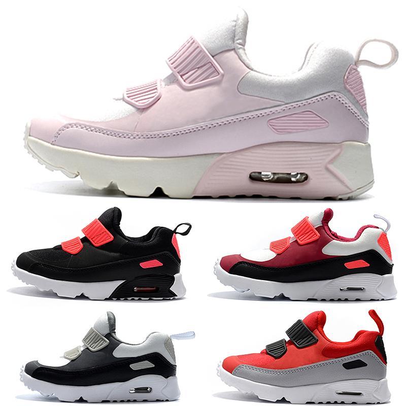 Nike air max 90 Zapatillas deportivas para niños Presto 90 II Zapatillas de correr para niños Negro blanco Bebé Zapatilla infantil 90 Zapatillas