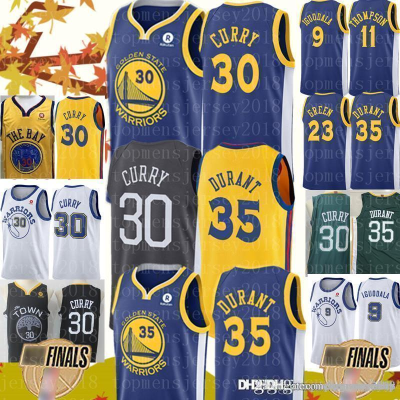 competitive price ba864 a0782 Golden Mens State jersey Warriors Stephen 30 Curry Jerseys Kevin 35 Durant  Andre 9 lguodala Draymond 23 Green