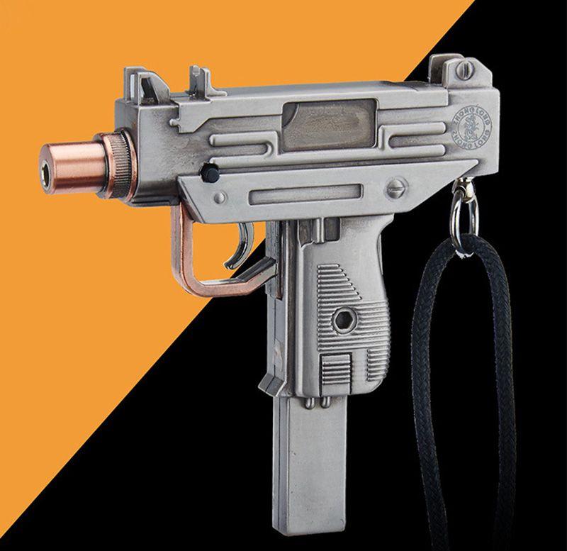 creative mini military mark machine gun lighters