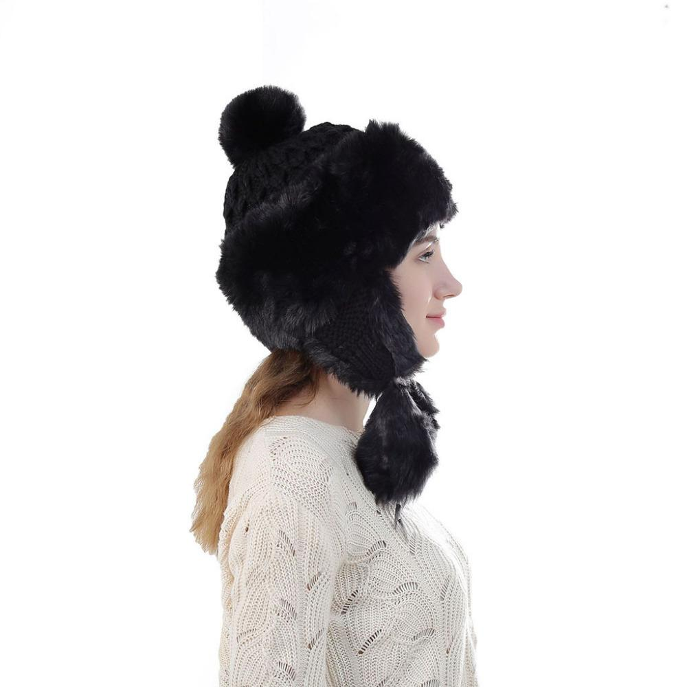 2019 Lady Faux Fur Winter Thicken Warm Windproof Hat Wool Thick Fashion Hat  Ushanka Gorros Mujer Invierno From Linyicity 5b628ee31c2