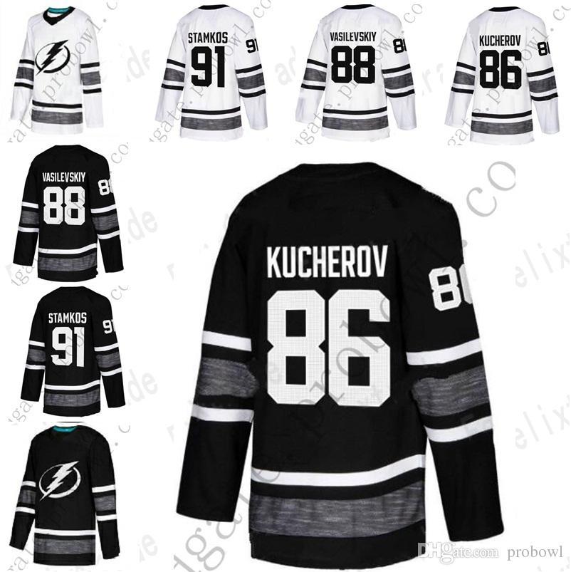 Tampa Bay Lightning Parley 2019 ALL STAR Jerseys Nikita Kucherov ... dd00f0931