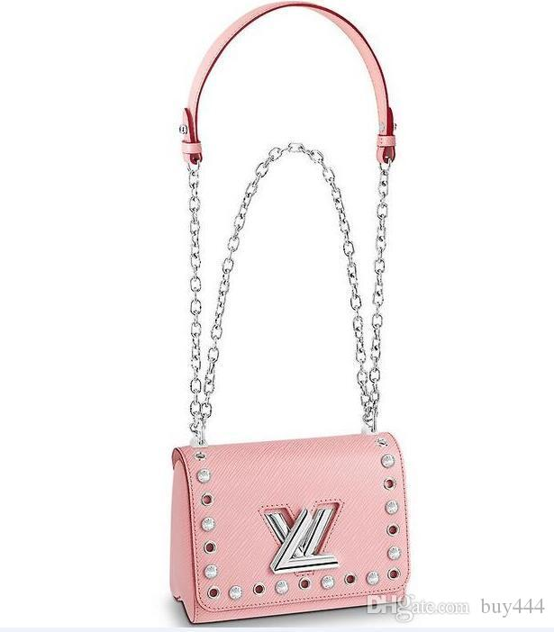 LVLV Twist Handbag 2019 borse griffate di lusso di moda di marca Lady Party Bag Epi Borse in pelle Cross Body Bags TWIST PM M53923 Portefeuille