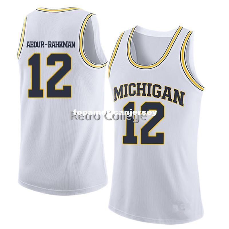 f0b05f8353a 2019 Michigan State Basketball Jersey  12 Muhammad Ali Abdur Rahkman Top  Yellow Custom Any Size